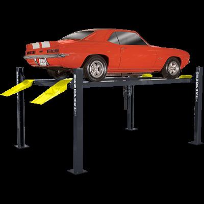 9000-Lb Capacity Gray Model Number HD-9 BendPak 4-Post Car Lift